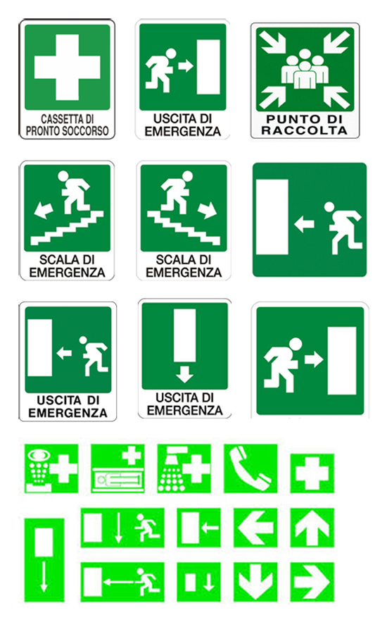 cartelli per salvataggio
